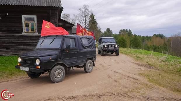 В Тверской области прошёл памятный автопробег по бездорожью
