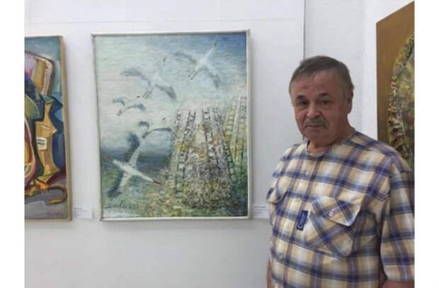 Художник Петру Жирегя отмечает 80-летний юбилей