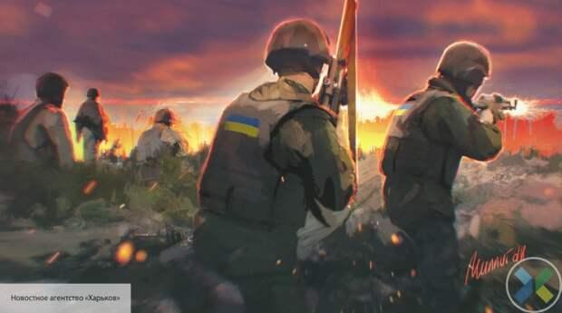 Украинские силовики расстреляли гражданский автомобиль в Донбассе, есть жертвы