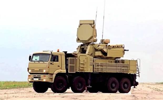США заполучили российский зенитный комплекс «Панцирь-С1»