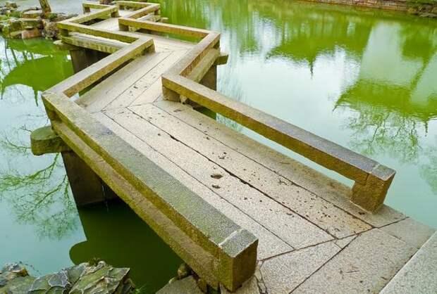 Зигзагообразный мост
