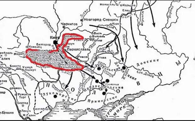 Страна Черно-Клобучия) (Иллюстрация из открытых источников)