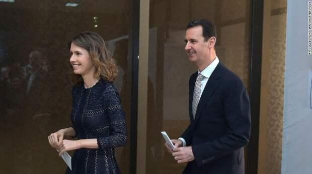 Лидер Сирии и его красавица-жена заразились коронавирусом