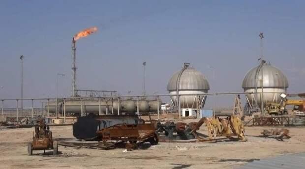 Сирия добыча газа