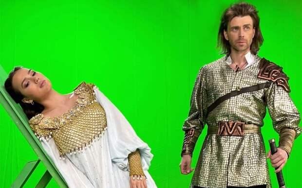 Навка показала съемки мюзикла «Руслан и Людмила» с участием Загитовой