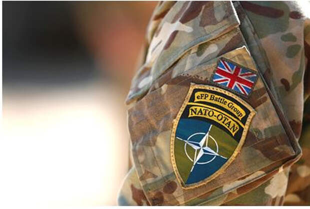 Британские солдаты НАТО подрались с жителями эстонского города