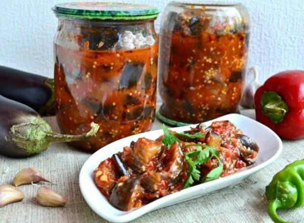 Салат Тёщин язык. Вкуснейший салатик из баклажан на зиму 2
