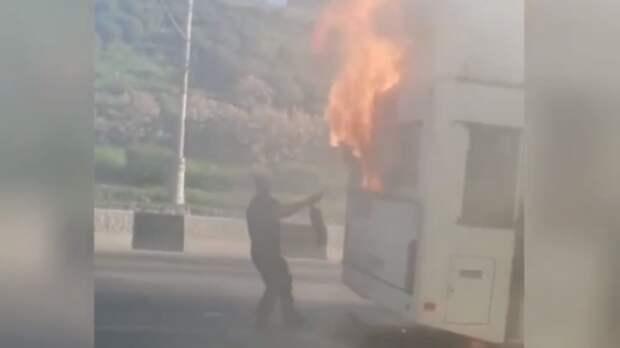 Автобус вРостове мог сгореть из-за халатности перевозчика