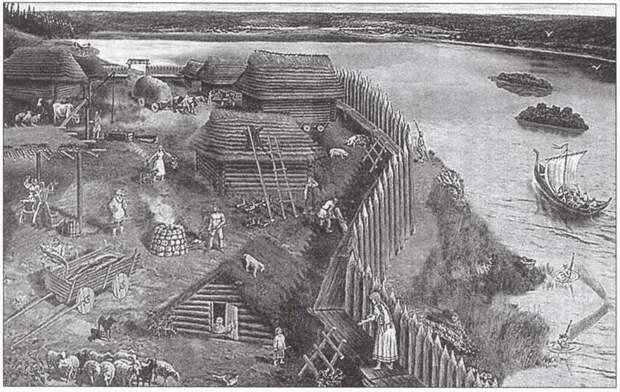 Историческая реконструкция древней Ладоги