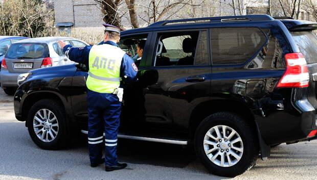 Около 700 нарушений ПДД водителями выявили в Подольске за неделю