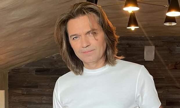 Дмитрий Маликов впервые снялся с сыном Марком для «глянца»