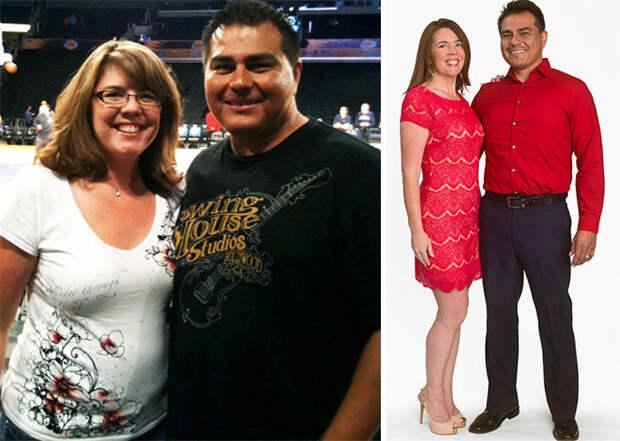 Оскар и Лори стали легче на 36 кило диета, лишний вес, похудение