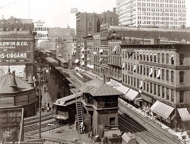 Вабаш авеню, Чикаго, 1907 год.