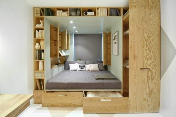 Спальня в себе