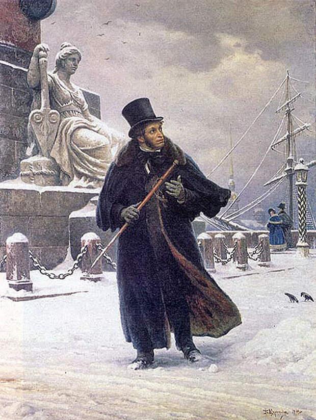 Дуэль с бессмертным творчеством Пушкина