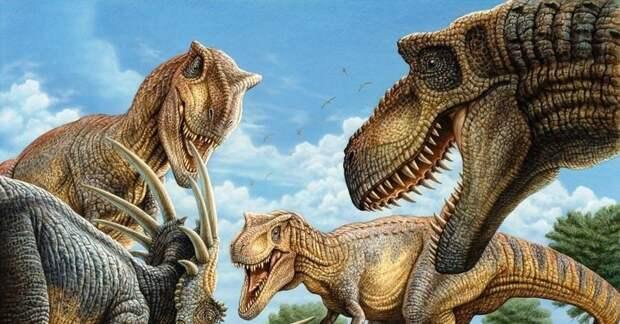 Палеонтологи обнаружили новые особенности жизни тираннозавров