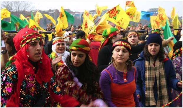 Курдская республика принесет России 30 млн граждан и много нефти