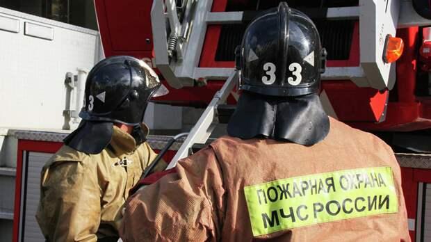 В Нижнем Новгороде произошёл пожар на судостроительном заводе