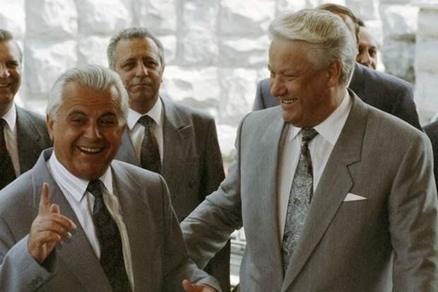 Кравчук предлагал Ельцину обсудить принадлежность Крыма
