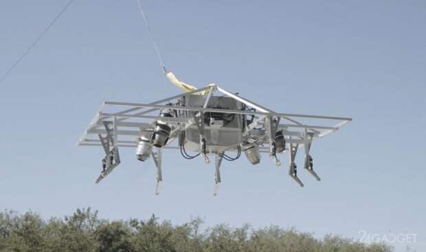 Представлен летающий мотоцикл Recreational Speeder с максимальной скоростью 241 км/ч
