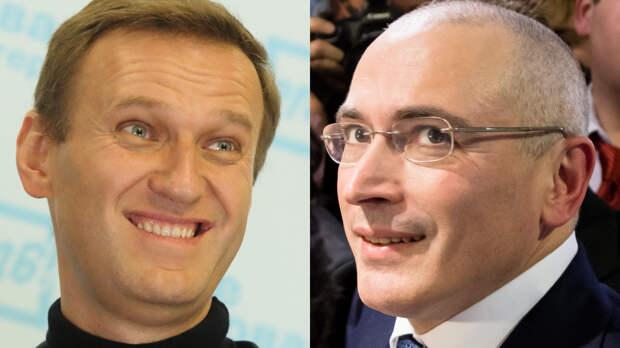 Ходорковский фиктивно прикрыл сеть своих агентов, подгадив Навальному