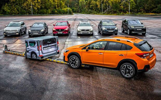 Тест систем автоторможения: как мы подстроили аварии