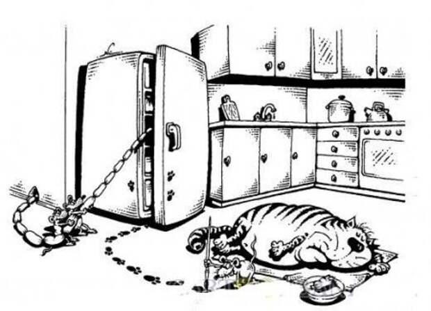 Карикатурки. 24 улыбательных картинки
