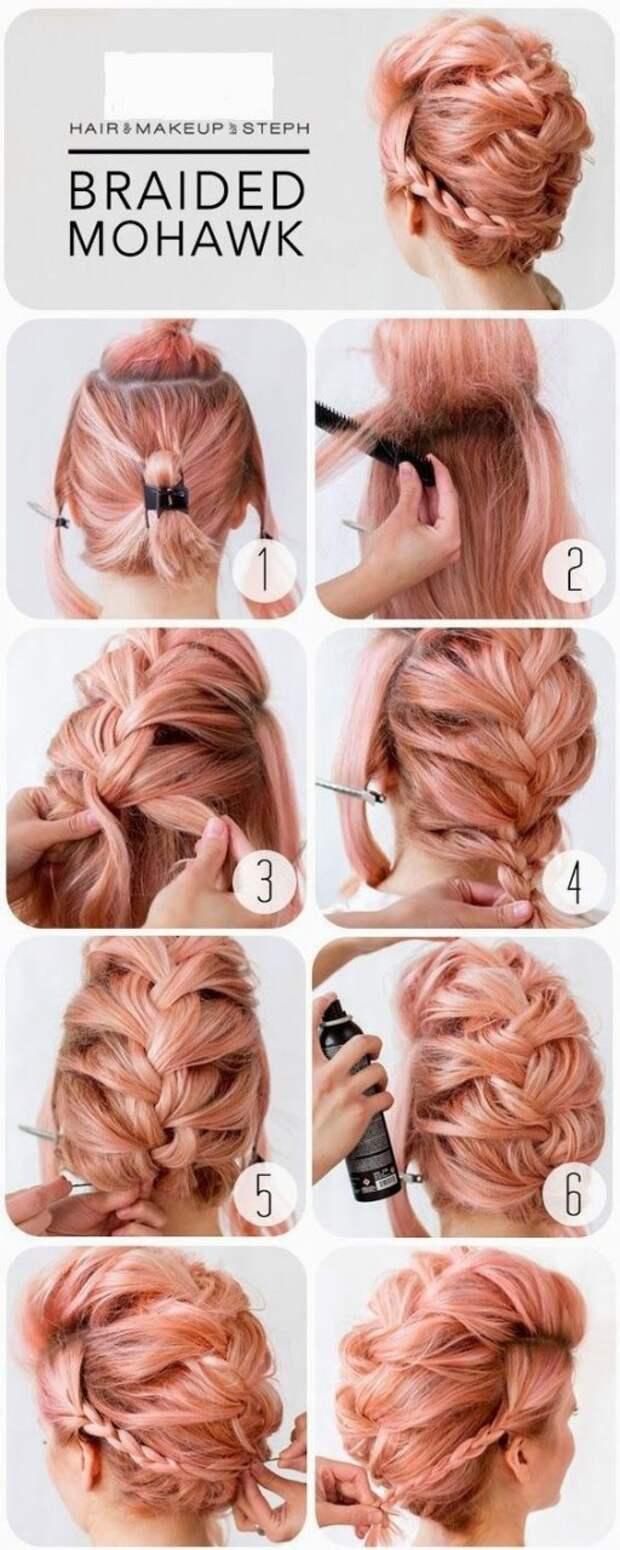 Причёска хаер для невесты (Diy)