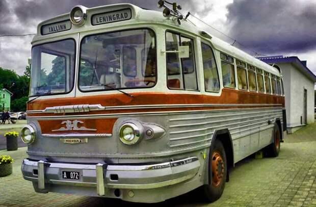 ЗИС-127 автобусы, история, это интересно