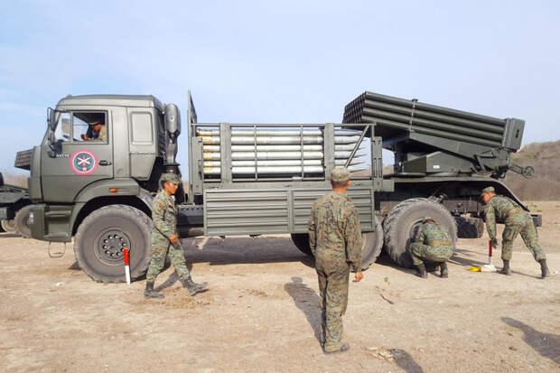 """Почему БМ-21 """"Град"""" переставили на другое шасси в Эквадоре"""