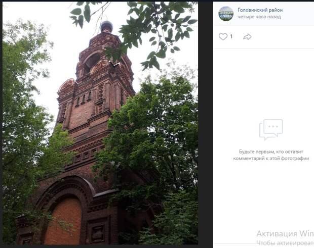 Фото дня: постройка на Кронштадтском для звона в поднебесье