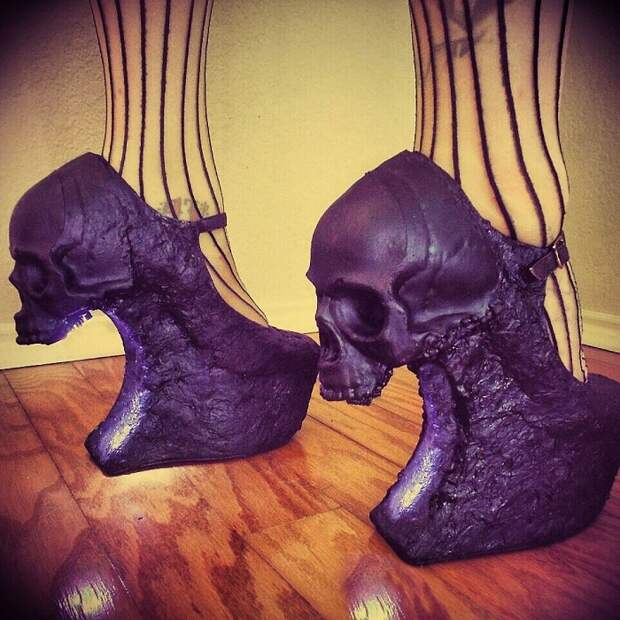 Обувь Zombie Pipshow очень популярна в Америке