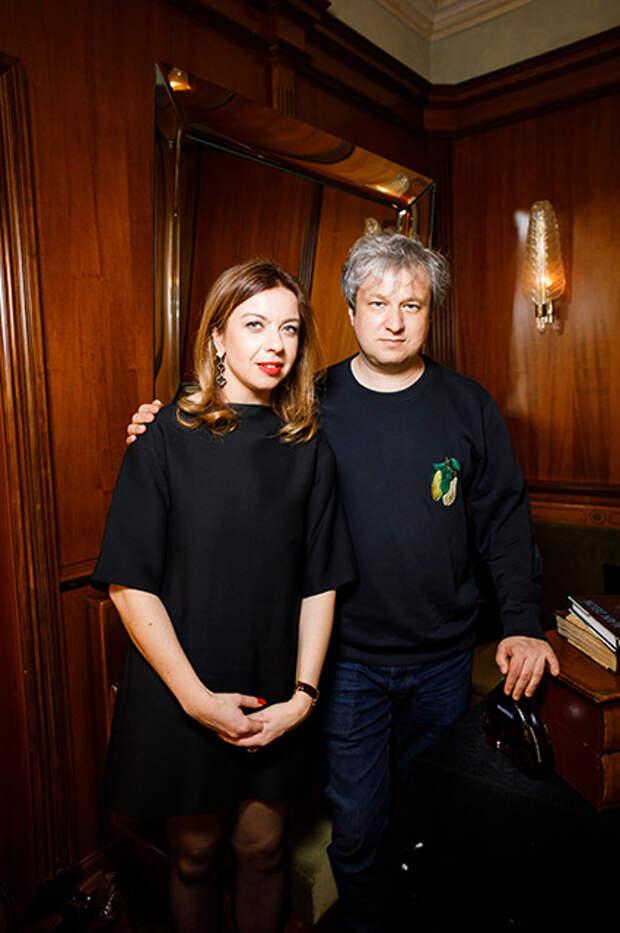 Зинаида Пронченко и Антон Долин