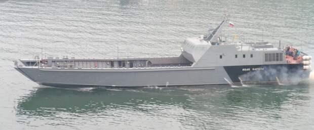 Проект 21820: создание уникальных транспортно-десантных судов для российского флота