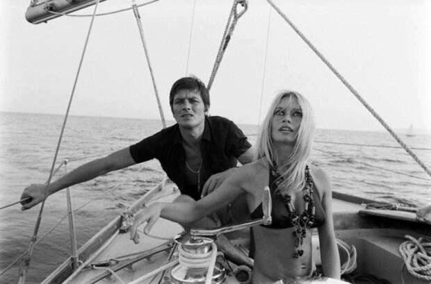 Брижит Бардо и Ален Делон, 1960-е