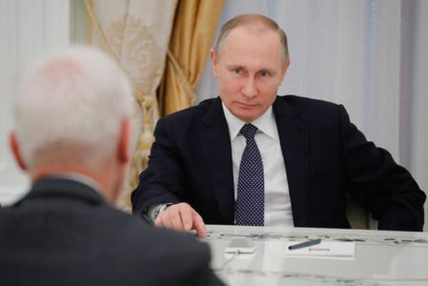 Владимир Путин принял в Кремле главу Фольксвагена Маттиаса Мюллера