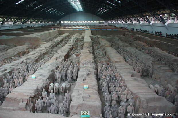 Гробница Цинь Шихуанди - фантазии и археологическая реальность
