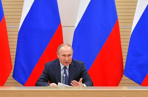 Владимир Путин провел встречу с членами рабочей группы по внесению поправок в Конституцию РФ