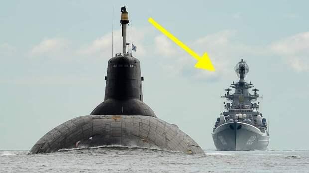 Анекдот: Всплывает Акула высотой 9 этажей, ей навстречу корабль США:«Почему русские бегают, они уже испугались?»