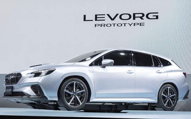 Новый универсал Subaru: продажи – в следующем году