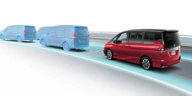 Nissan Serena получит функцию автономного вождения