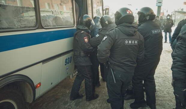 ВРостове назвали число задержанных вовремя митинга бизнесменов срынка «Атлант»