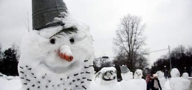Снежная баба по-фински, вот такая особая толерантность)