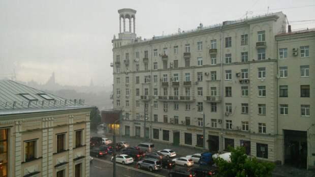 Москву накрыло рекордным количеством осадков