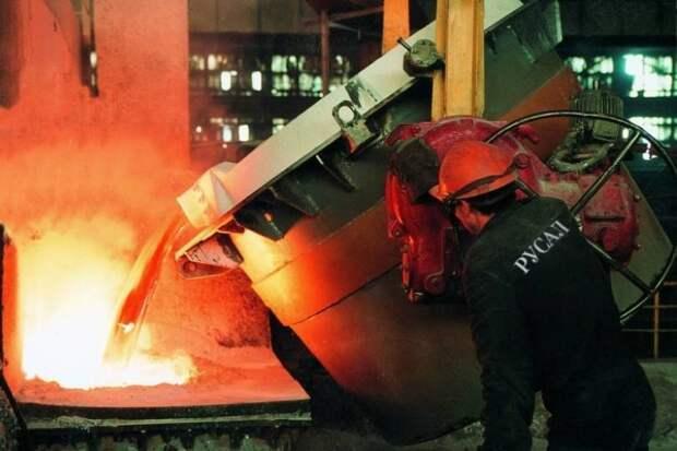 Летом экспорт алюминия из России увеличился в 9 раз