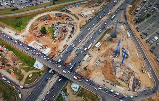Реконструкцию развязки МКАД с Алтуфьевским шоссе завершат раньше срока