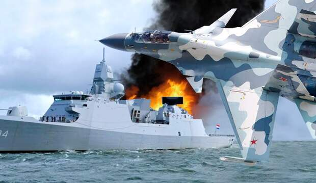 Разозлились: после выходки «Дефендера» российские лётчики едва не потопили голландский фрегат
