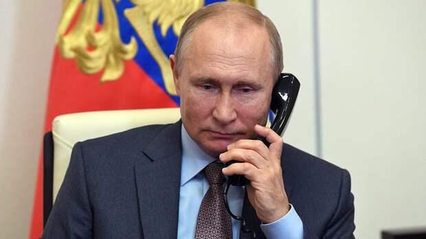 Путин обсудил с Мирзиеевым вопросы борьбы с коронавирусом