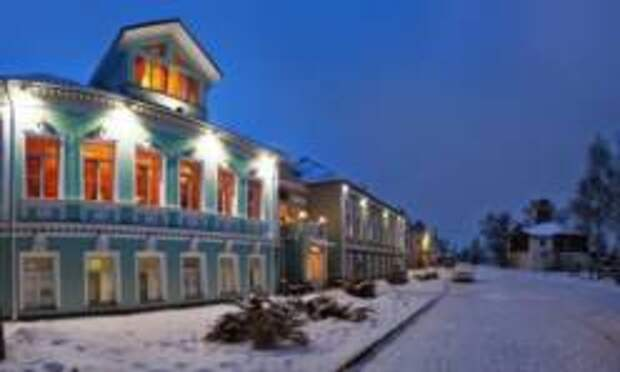 На День защитника Отечества в самое красивое село России - Вятское!