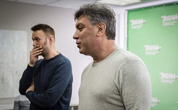 А Немцов бы одобрил? Конев о действиях Навального и Яшина немцов, марш немцова, либералы